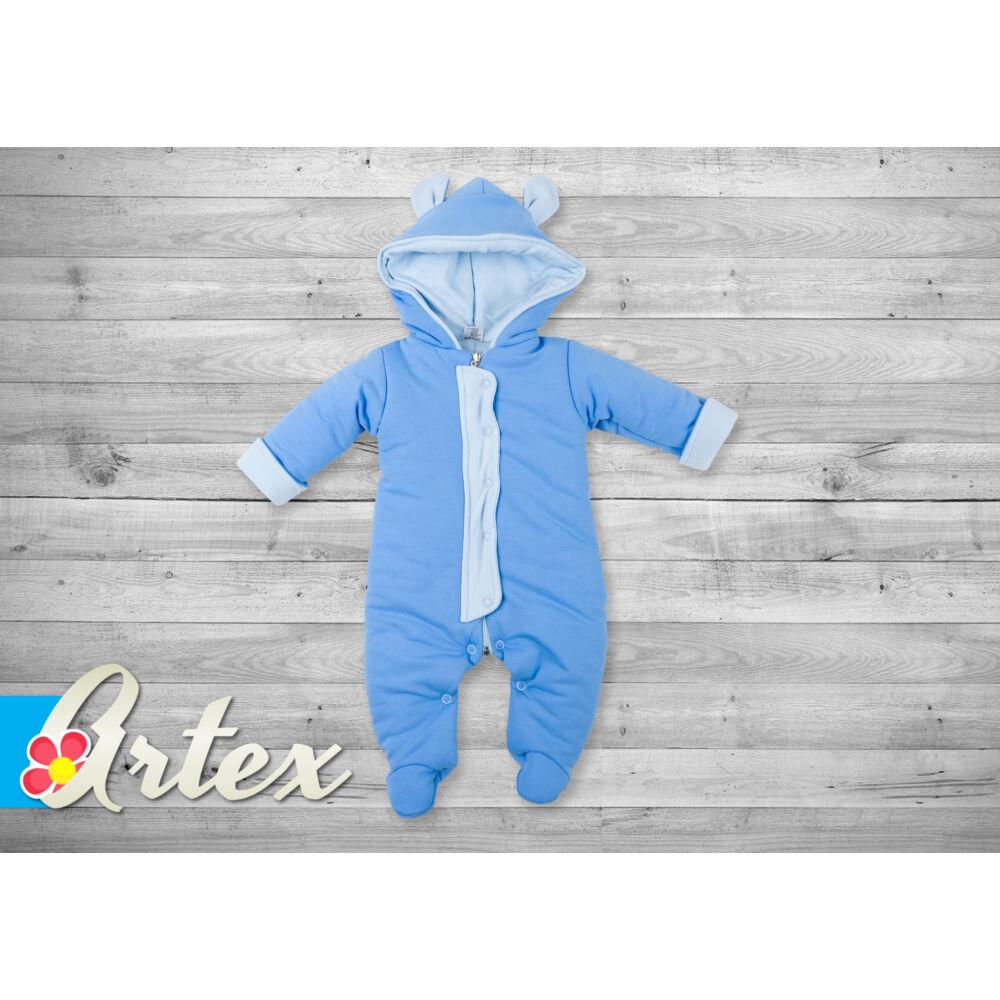 Artex pamut overál patentokkal - kék - Bunny and Teddy