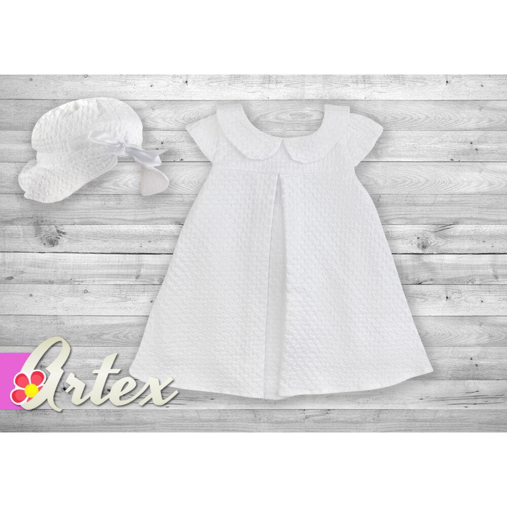 Artex A-vonalú ruha - fehér - Bunny and Teddy