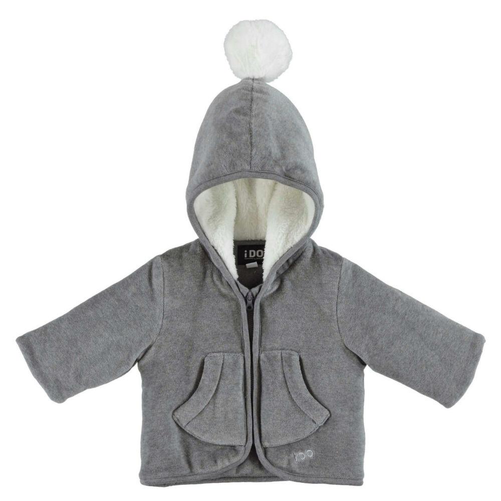 iDO zsenilia kabát babakocsiba, vastag béléssel a hidegebb napokra - szürke - Bunny and Teddy