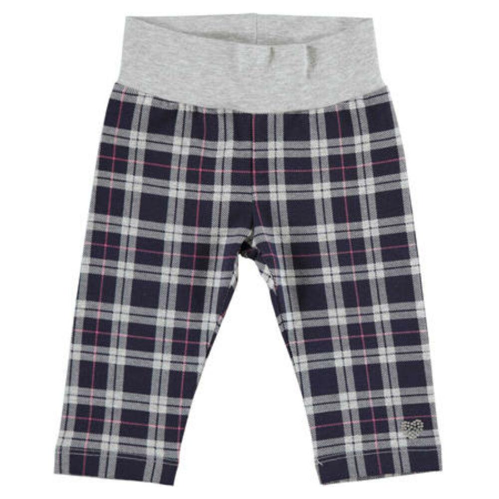 iDO kockás leggings - színes - Bunny and Teddy
