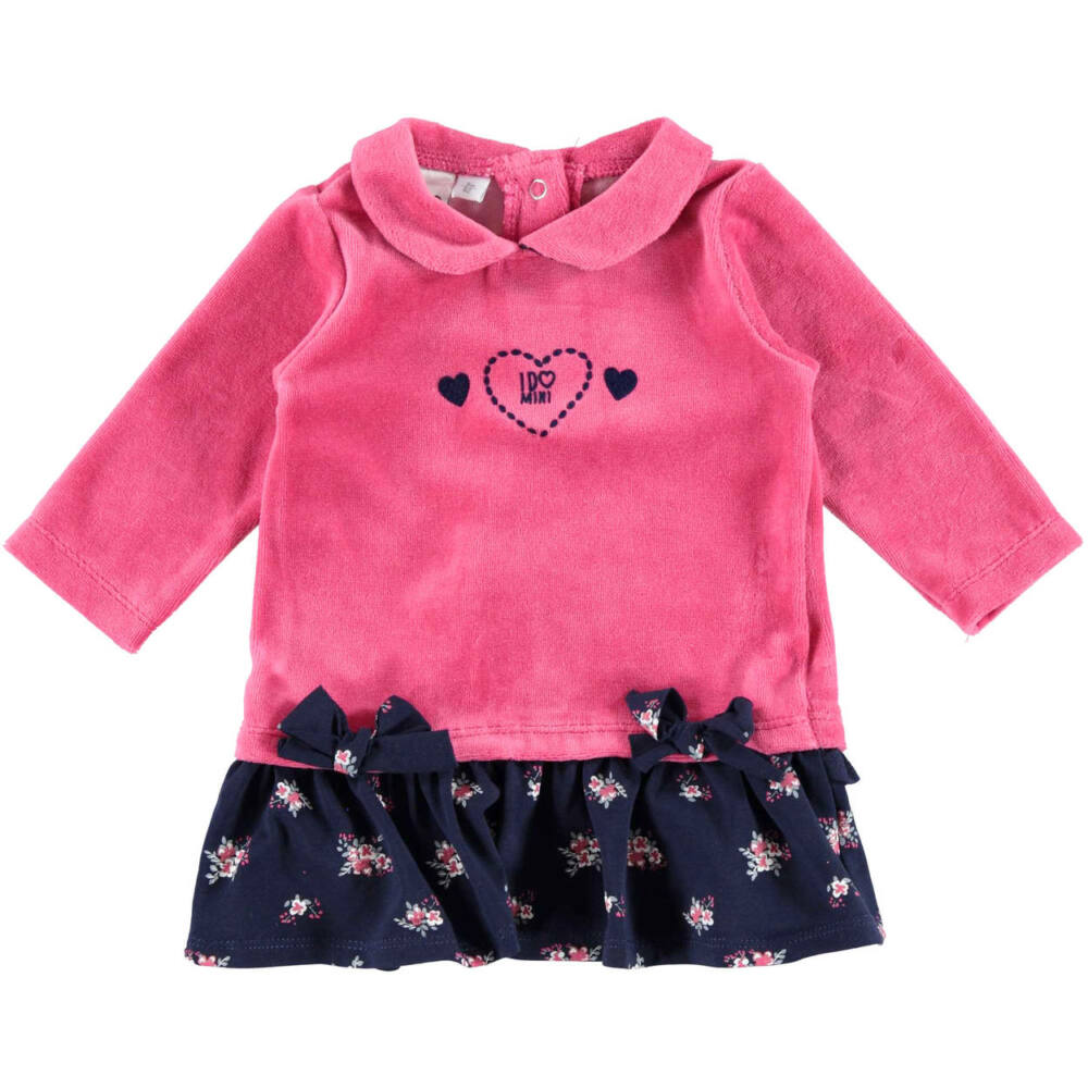 iDO ruha fodrokkal és masnival - rózsaszín - Bunny and Teddy