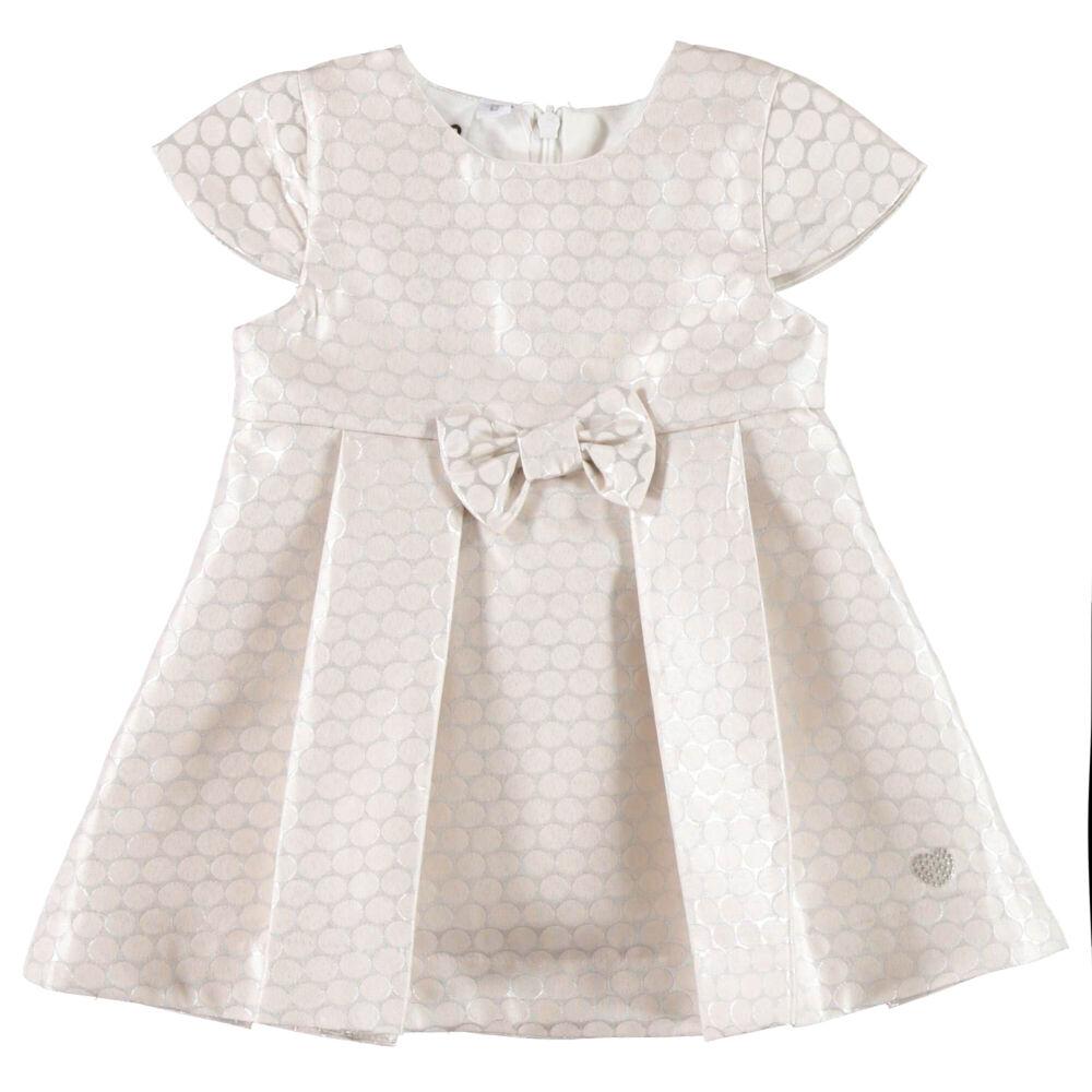 iDO elegáns ruha kis hercegnőknek - bézs - Bunny and Teddy