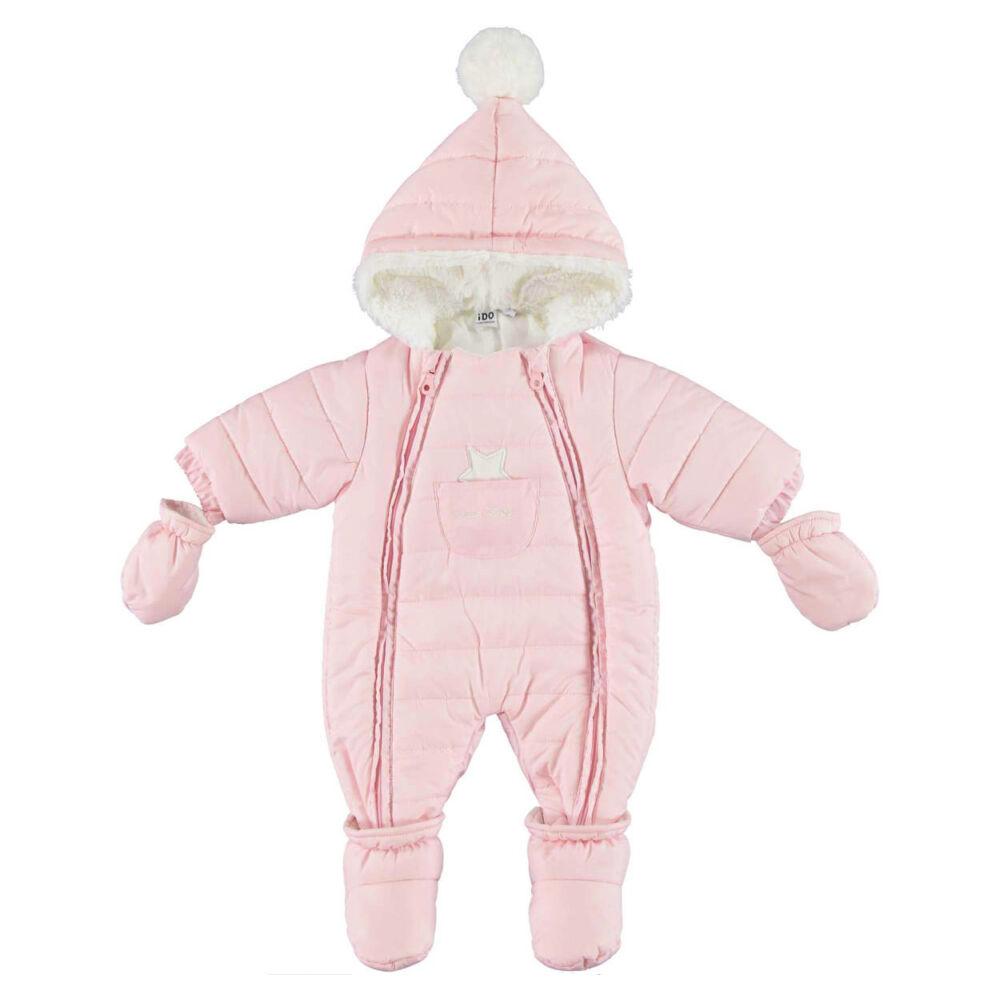 iDO meleg téli overál csillaggal az elején - rózsaszín - Bunny and Teddy