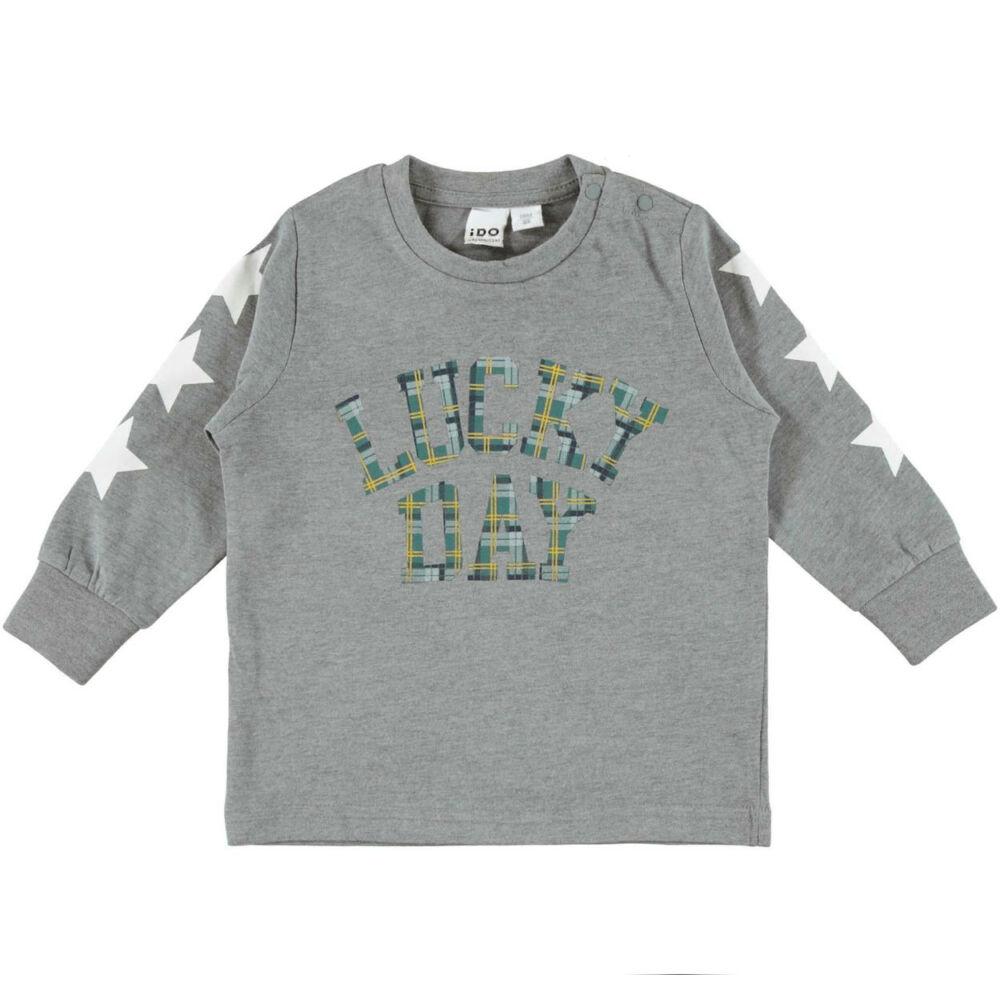 iDO hosszú ujjú póló - szürke - Bunny and Teddy