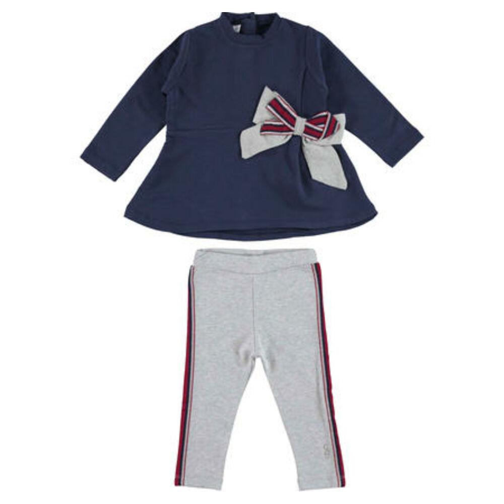 iDO tunika és leggings szett - kék - Bunny and Teddy