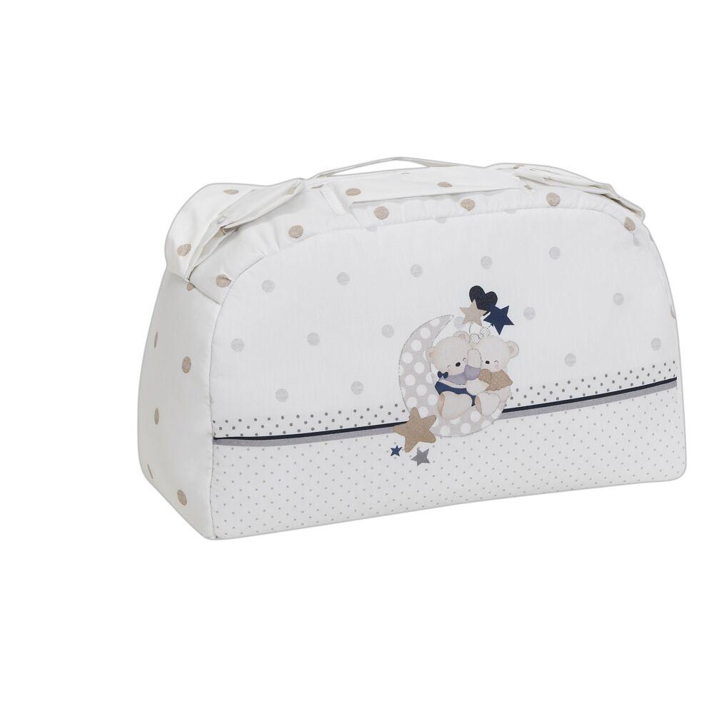 Interbaby pelenkázó táska Amorosos Beige - bézs - Bunny and Teddy