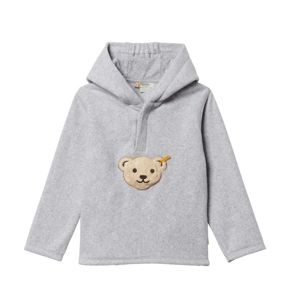 Steiff kapucnis pulóver- szürke- Bunny and Teddy