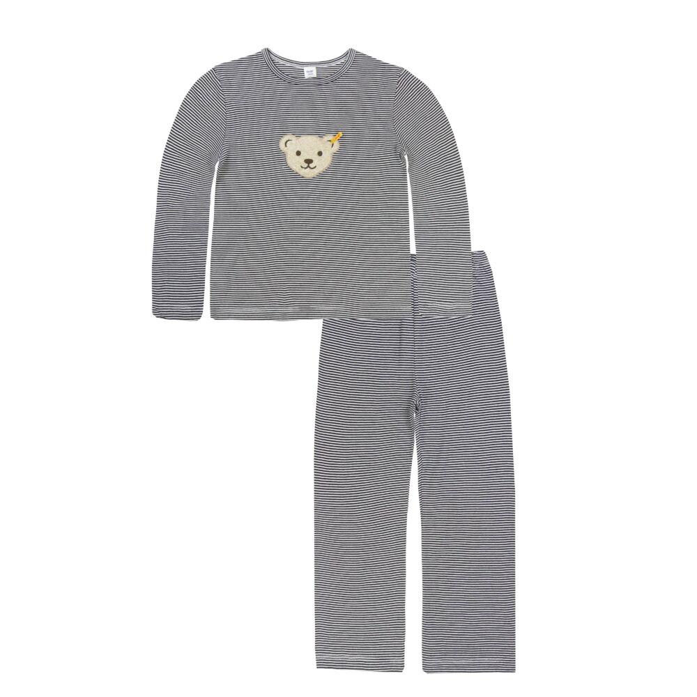 Steiff pizsama - sötétkék/fekete - Bunny and Teddy