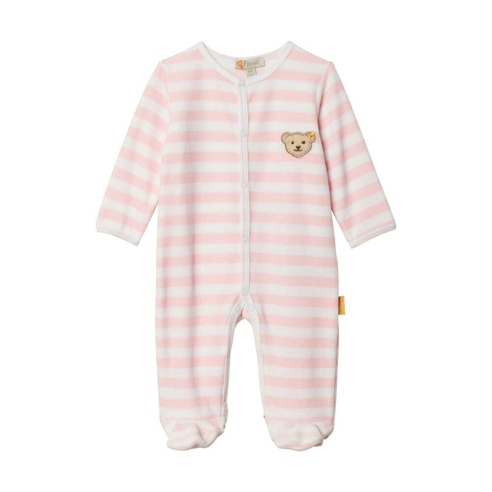 Steiff hosszú ujjú rugdalózó- rózsaszín- Bunny and Teddy