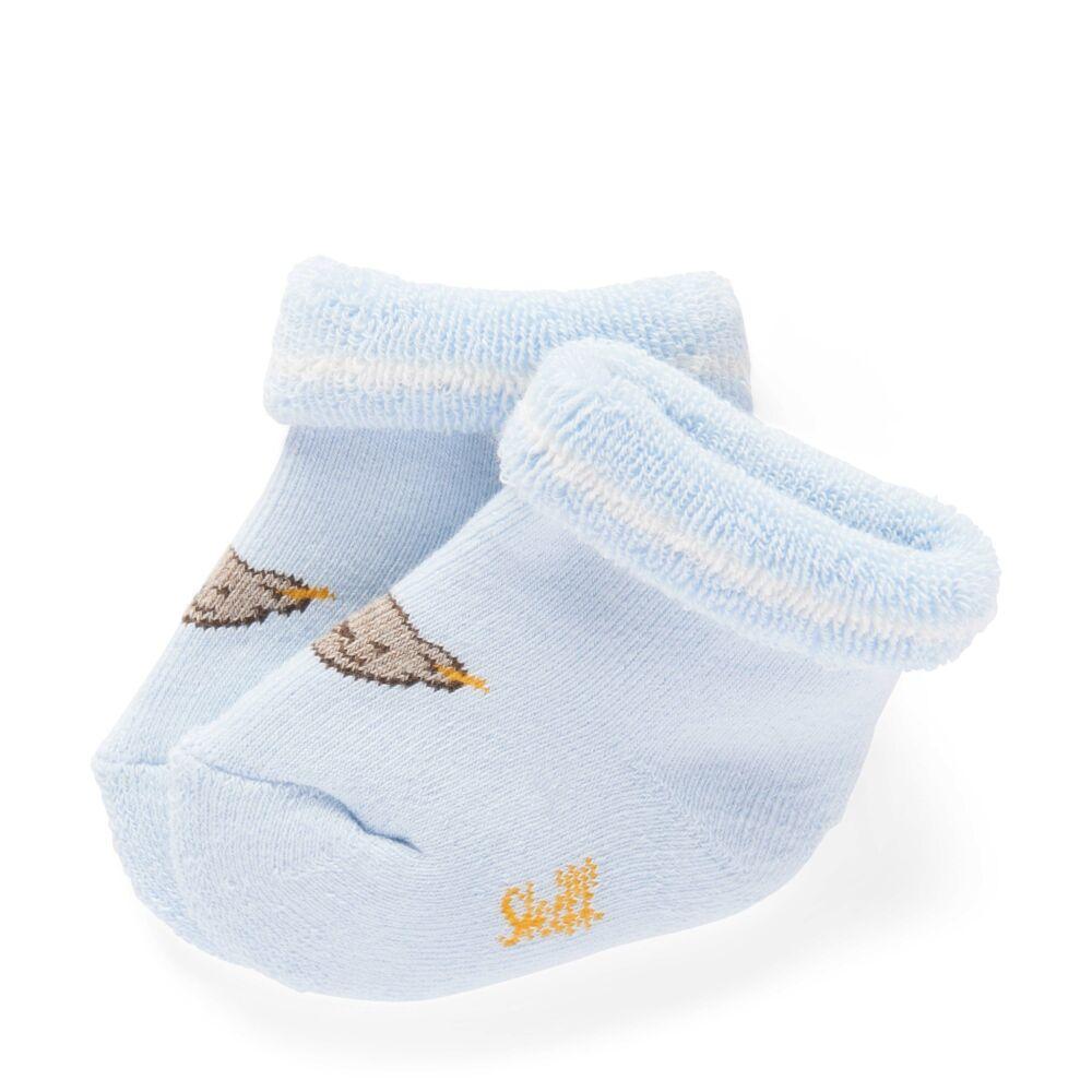 Steiff újszülött zokni - világoskék - Bunny and Teddy