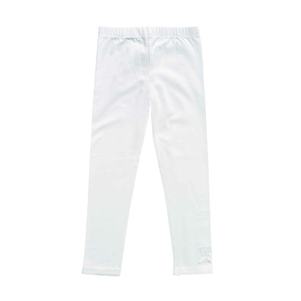 Steiff leggings- Basic kollekcó fehér  | Bunny and Teddy