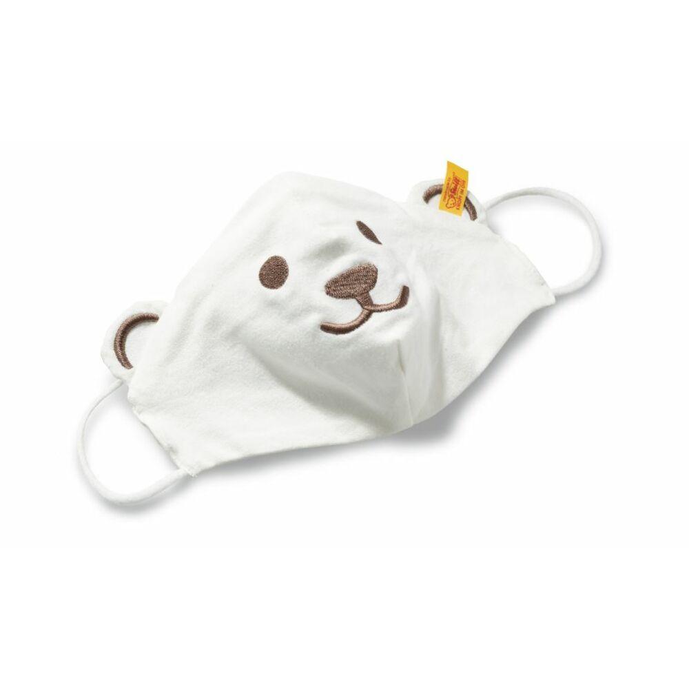 gyerek maszk hímzett maci mintával a Steiff-től