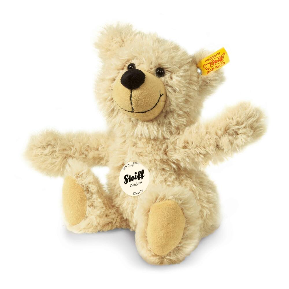 Steiff Charly Teddy maci , bézs- bézs- Bunny and Teddy