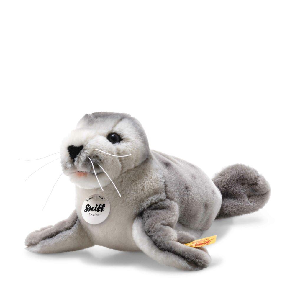 National Geographic Sheila baby seal, grey2) - fehér - Bunny and Teddy