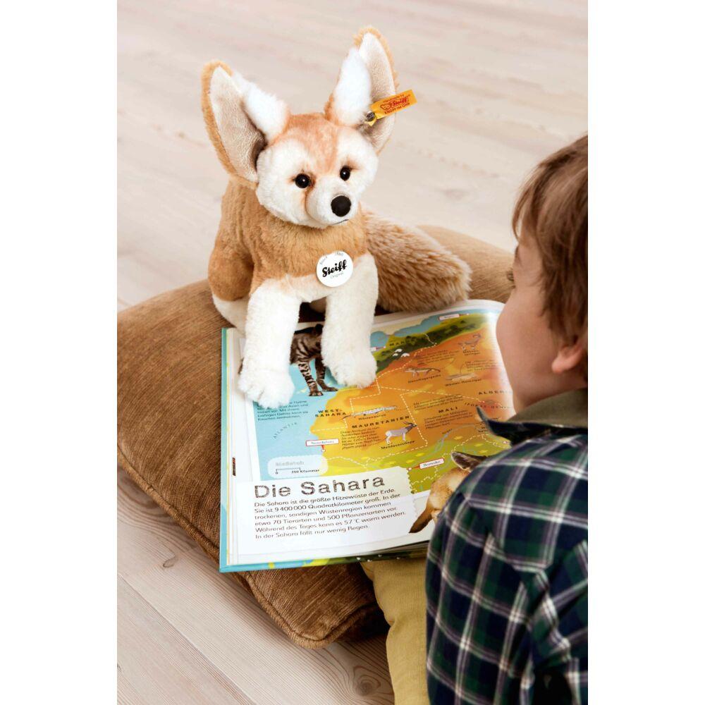 Steiff Foxy róka- bézs- Bunny and Teddy