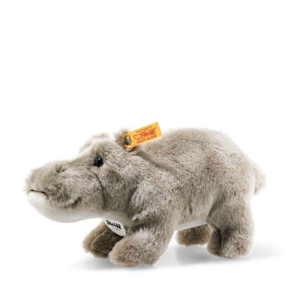 Sammi hippopotamus, grey - fehér - Bunny and Teddy