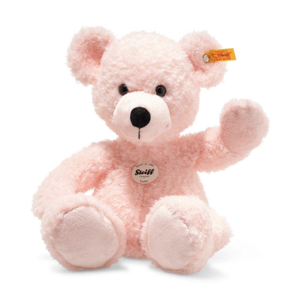 Steiff Lotte Teddy maci - rózsaszín - Bunny and Teddy