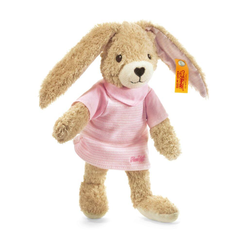 Steiff Hoppel nyuszi biopamutból - rózsaszín - Bunny and Teddy