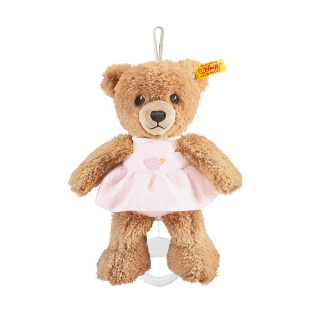 """Steiff """"aludj jól"""" felhúzható zenélő maci- rózsaszín- Bunny and Teddy"""