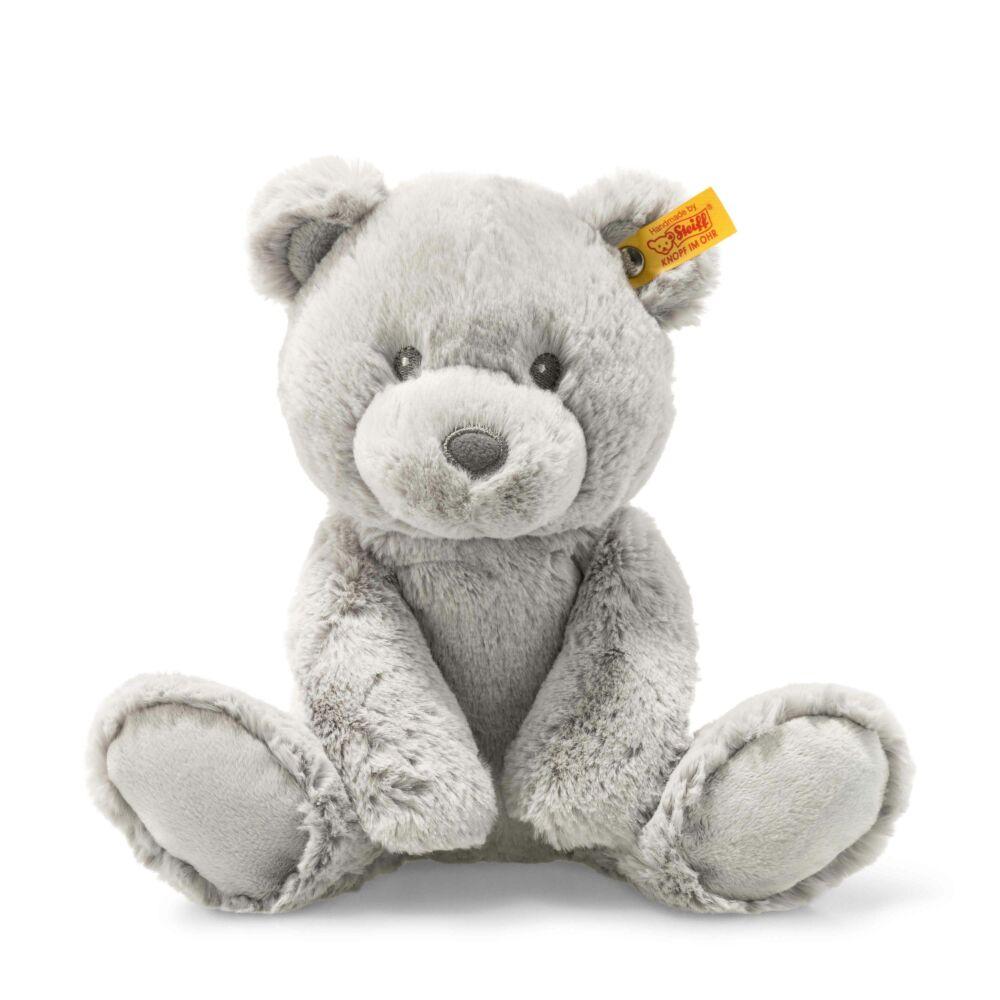 Steiff Soft Cuddly Friends Bearzy Teddy maci - szürke - Bunny and Teddy