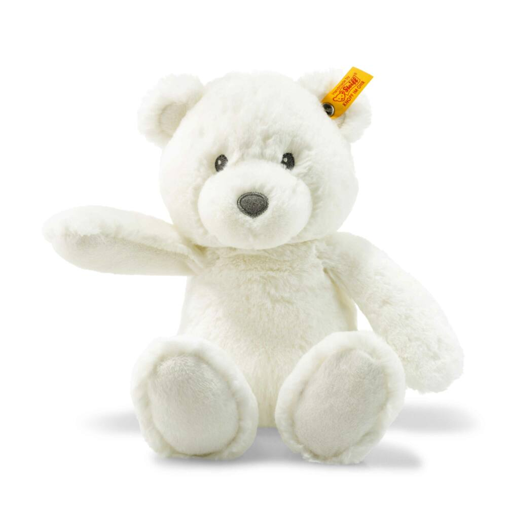 Steiff Soft Cuddly Friends Bearzy Teddy maci - fehér - Bunny and Teddy