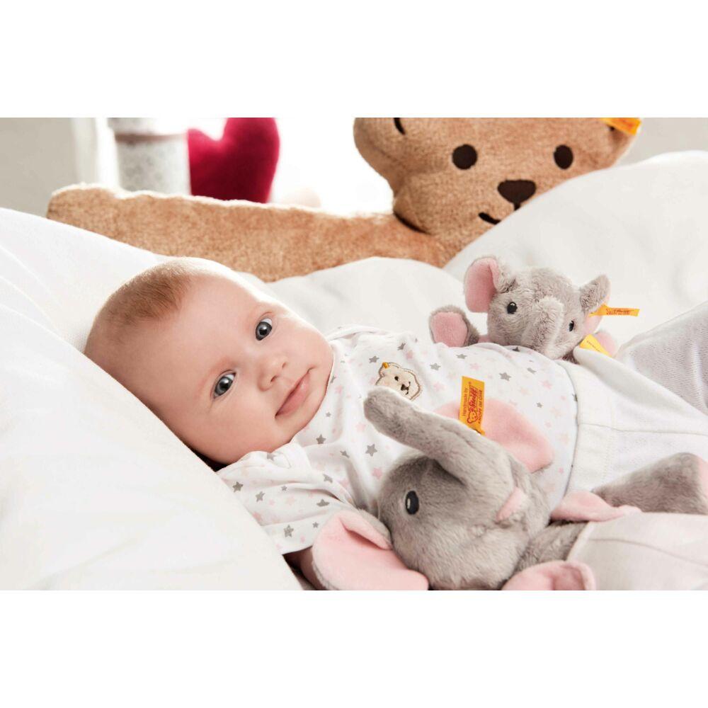 """Steiff """"Trampili baby elefánt"""" - rózsaszín - világos rózsaszín - Bunny and Teddy"""