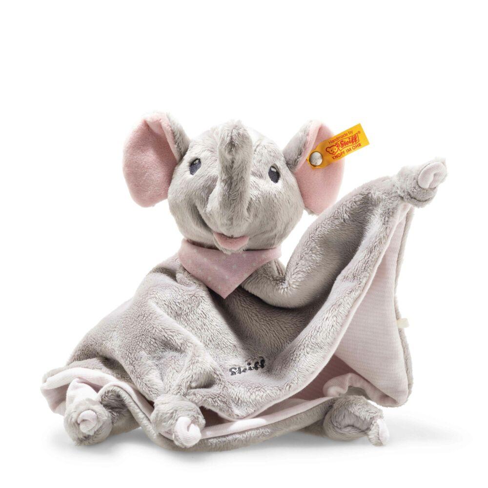 """Steiff """"Trampili baby elefánt"""" szundikendő - világos rózsaszín - Bunny and Teddy"""