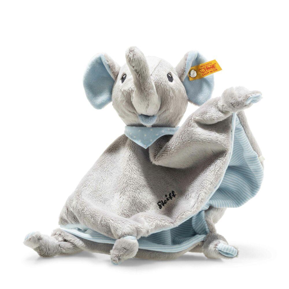 Steiff Trampili elefánt szundikendő- Bunny and Teddy