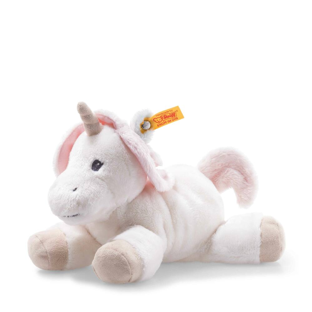 Steiff Soft Cuddly Friends Bébi Unikornis - fehér - Bunny and Teddy