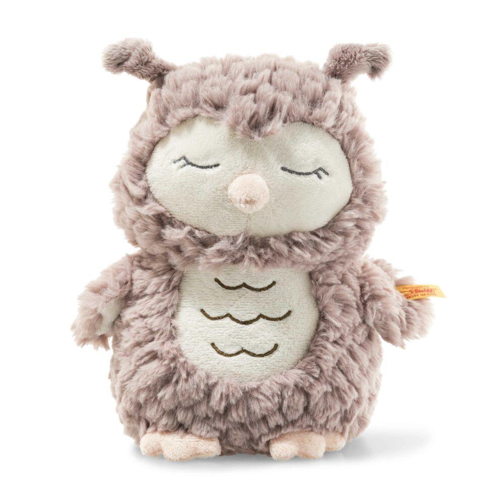 Steiff Ollie bagoly - Soft Cuddly Friends kollekció - rózsaszín - Bunny and Teddy