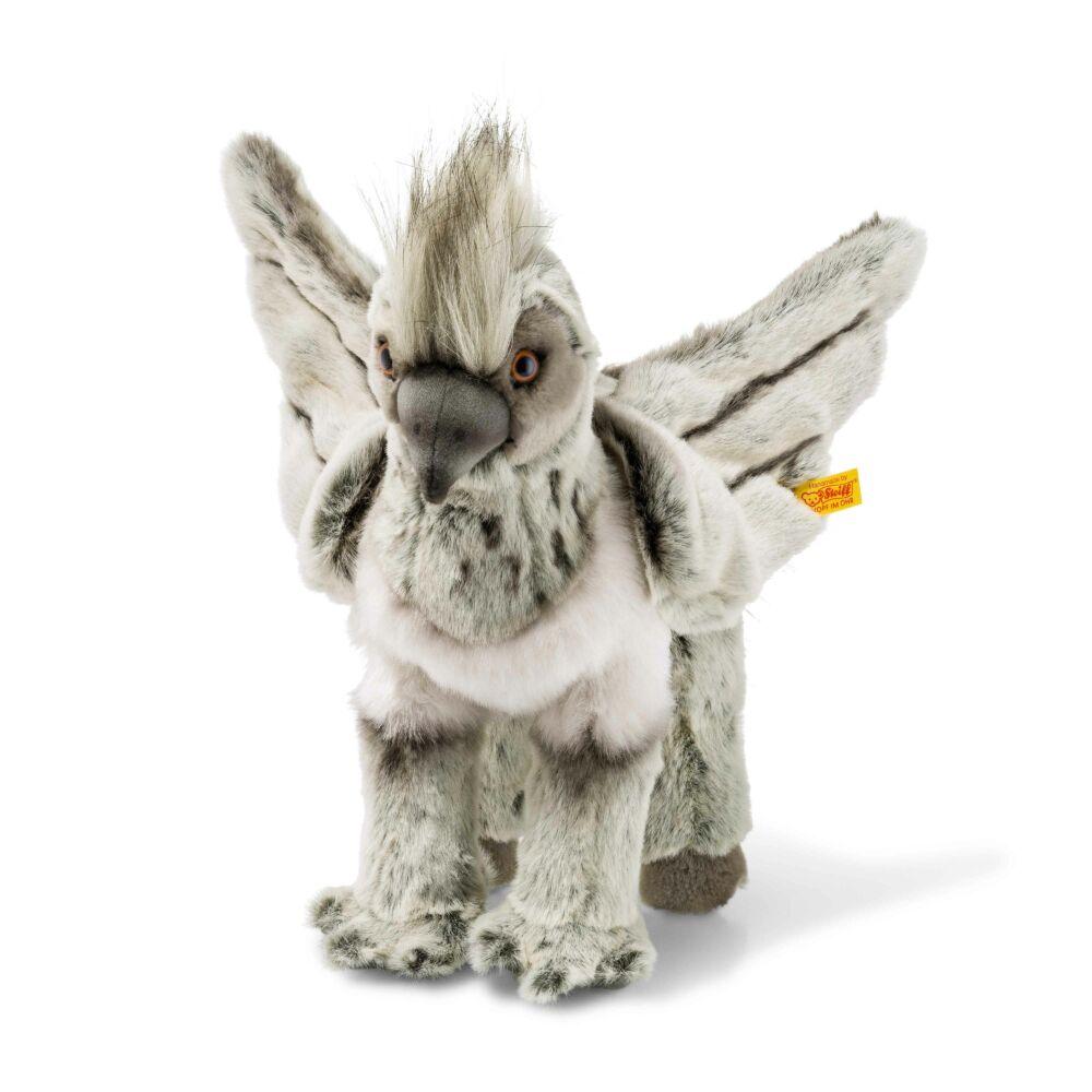 Steiff Csikócsőr / Szilajszárny,- szürke- Bunny and Teddy