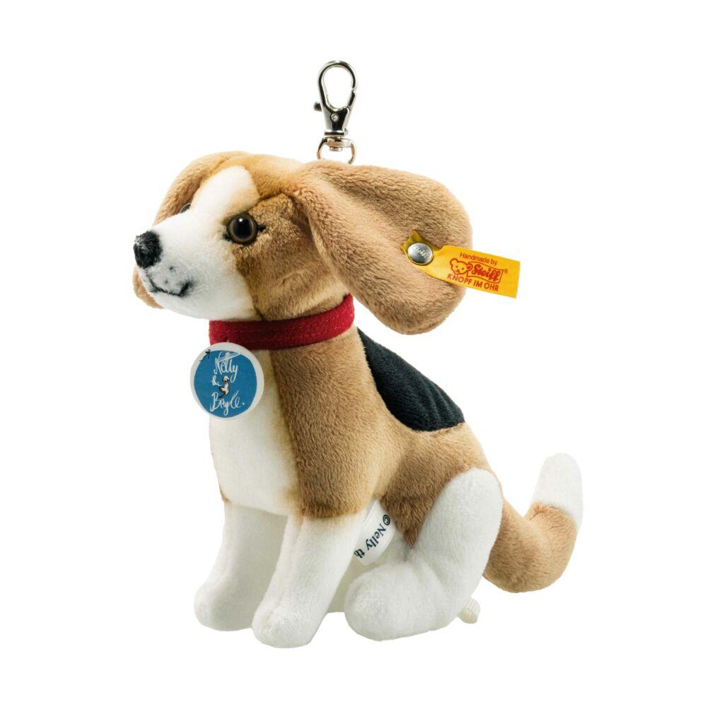 Kulcstartó Nelly the Beagle, brown/white/black - fehér - Bunny and Teddy
