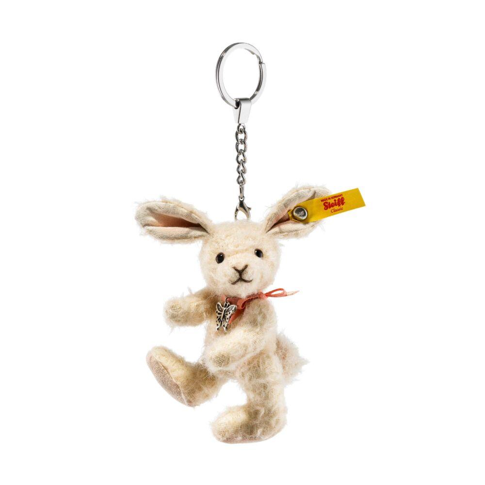 Steiff Tiny nyuszi kulcstartó gyűjtőknek- bézs- Bunny and Teddy