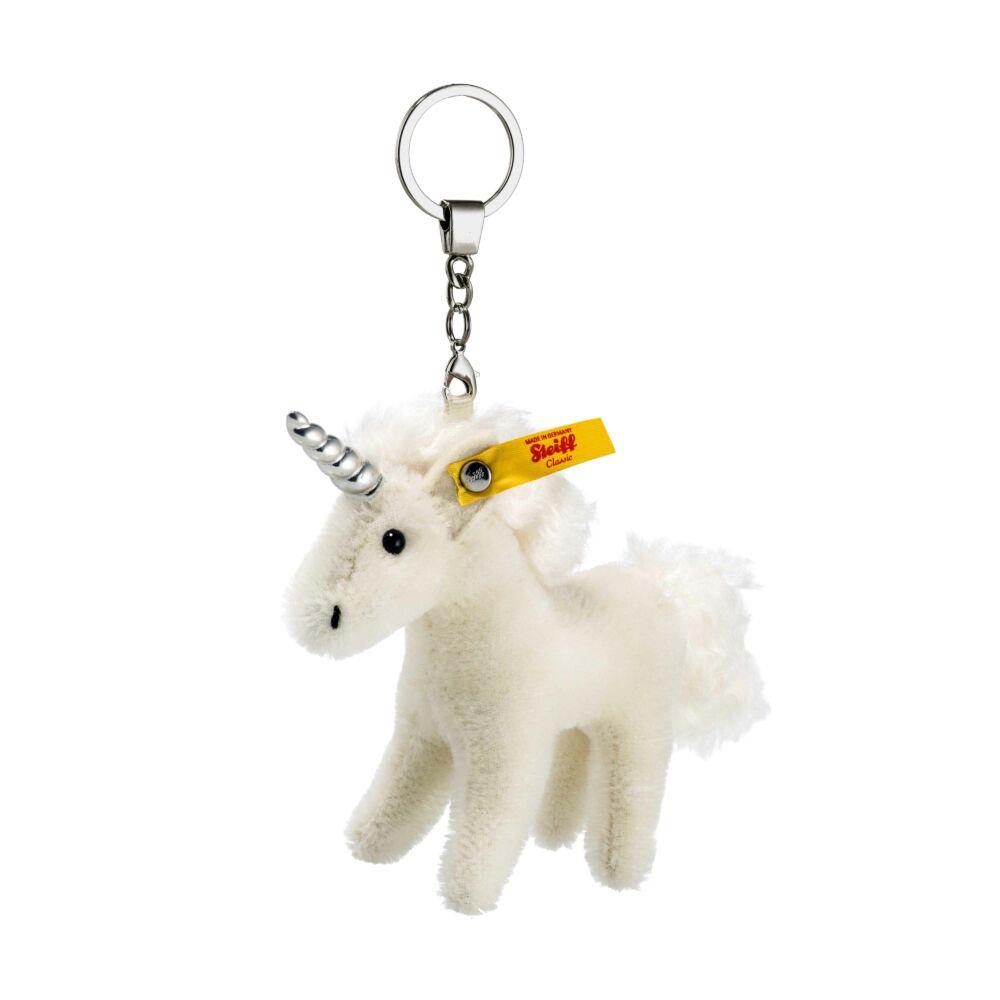 Steiff unikornis kulcstartó gyűjtőknek - fehér - Bunny and Teddy