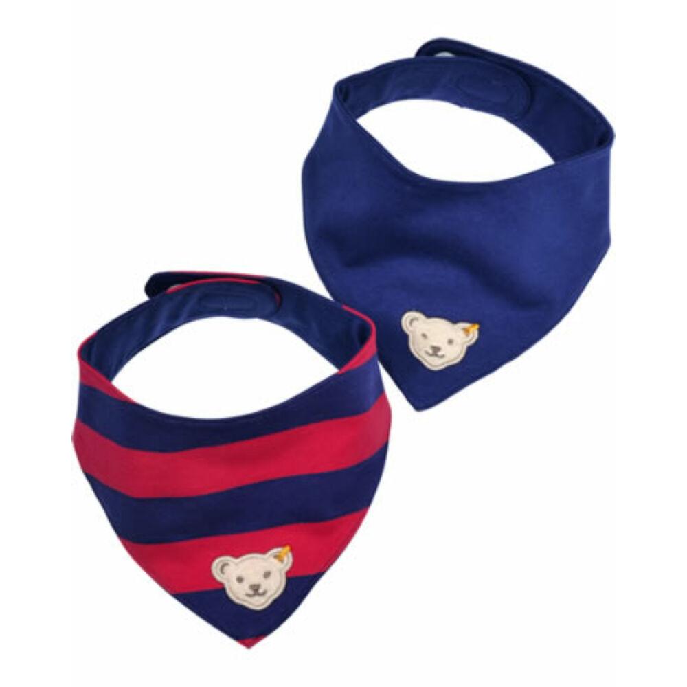 Steiff  sál, kendő - 2db-os csomagban - sötétkék - Bunny and Teddy