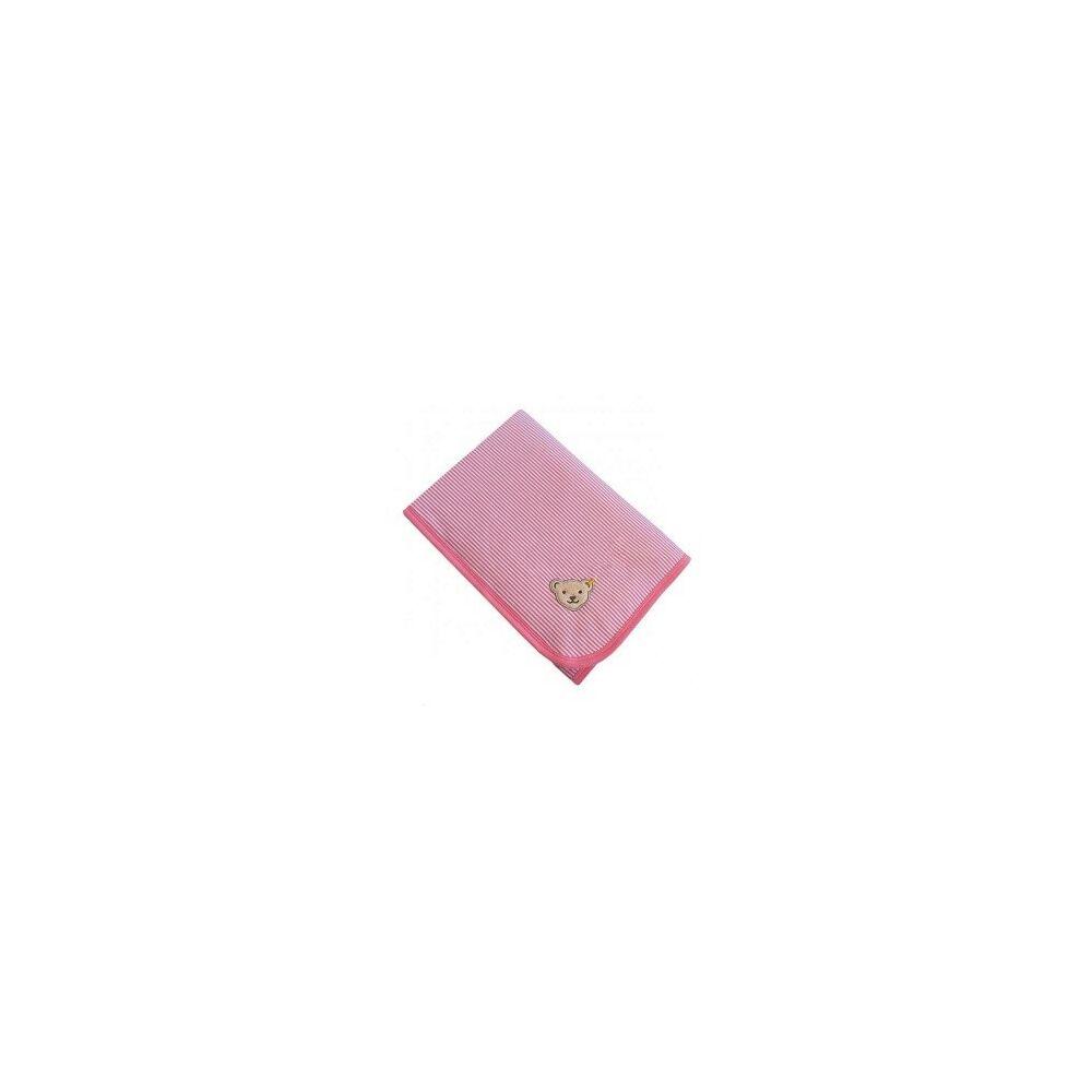 Steiff takaró - rózsaszín - Bunny and Teddy