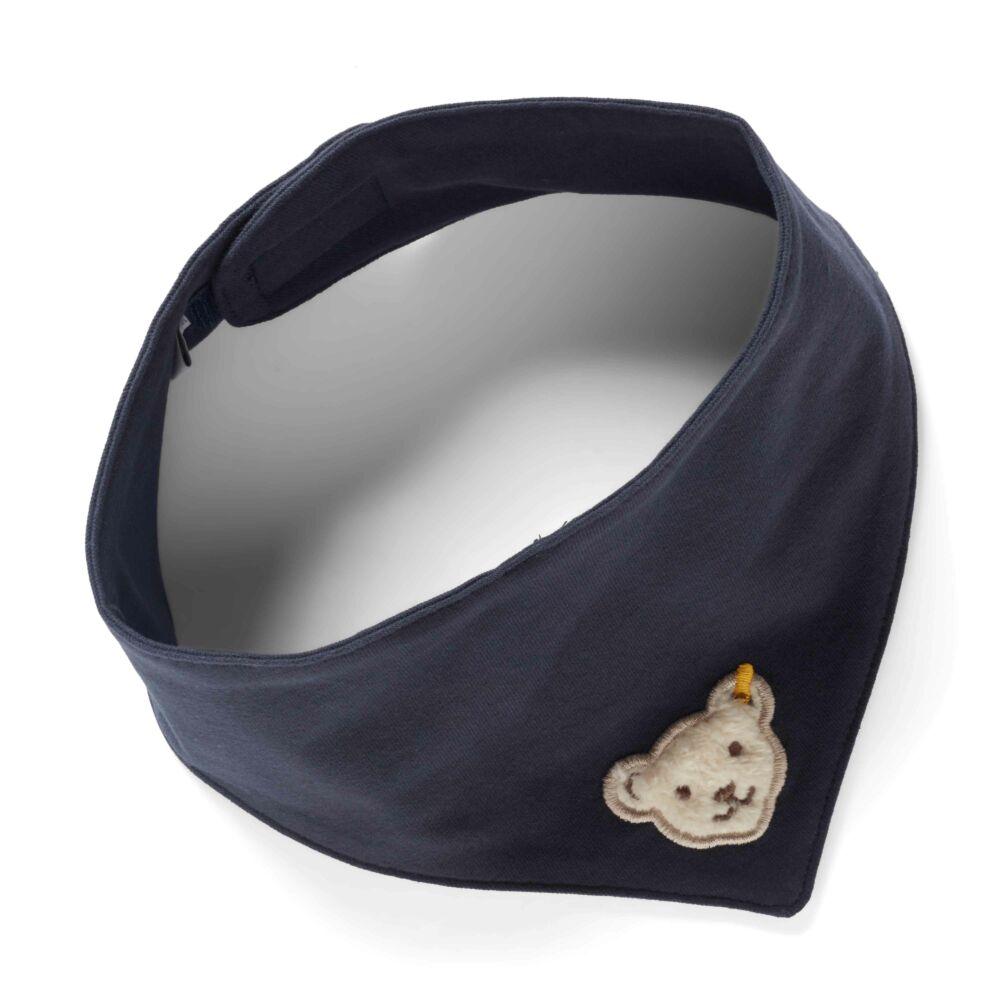 Steiff kendő 2db-os csomag- sötét kék/fekete- Bunny and Teddy