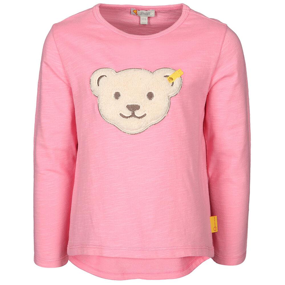 Steiff hosszú ujjú póló- rózsaszín- Bunny and Teddy