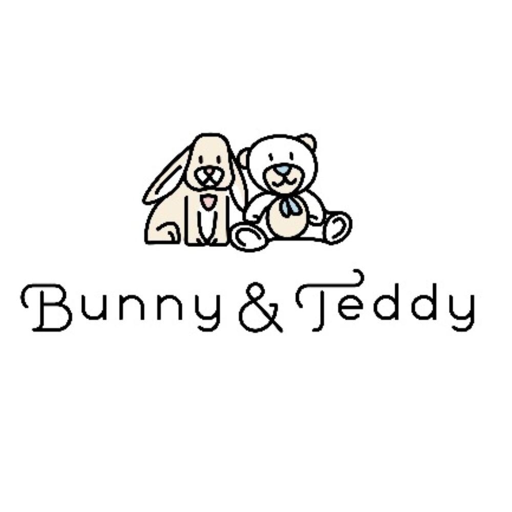 Steiff rugdalózó szett biopamutból- világos rózsaszín- Bunny and Teddy