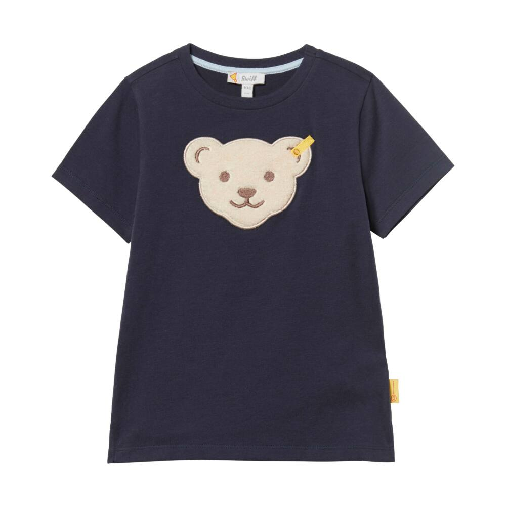 Steiff póló - sötétkék/fekete - Bunny and Teddy