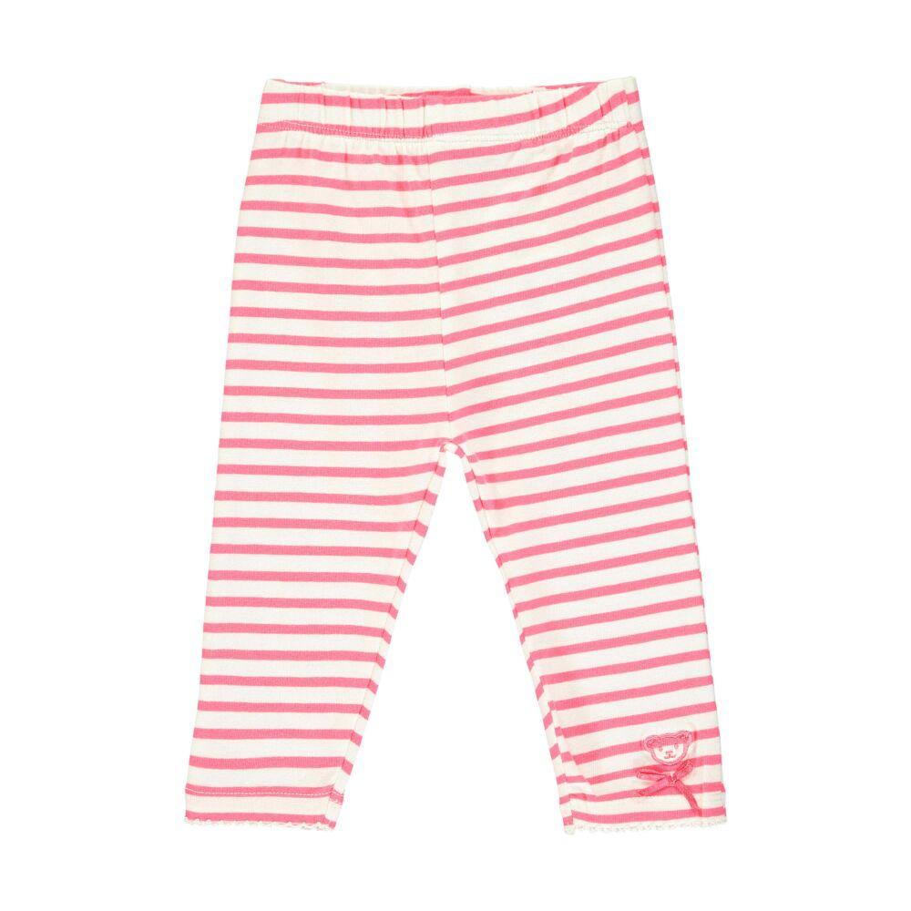Steiff rózsaszín csíkos leggings - Bear in my heart kollekció-rózsaszín-Bunny and Teddy