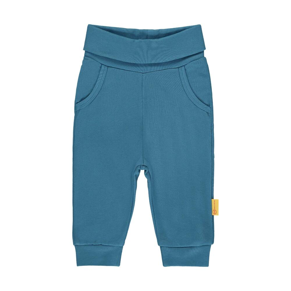 Steiff kék színű melegítő nadrág kisfiúknak - Bear Blues kollekció-türkiz-Bunny and Teddy