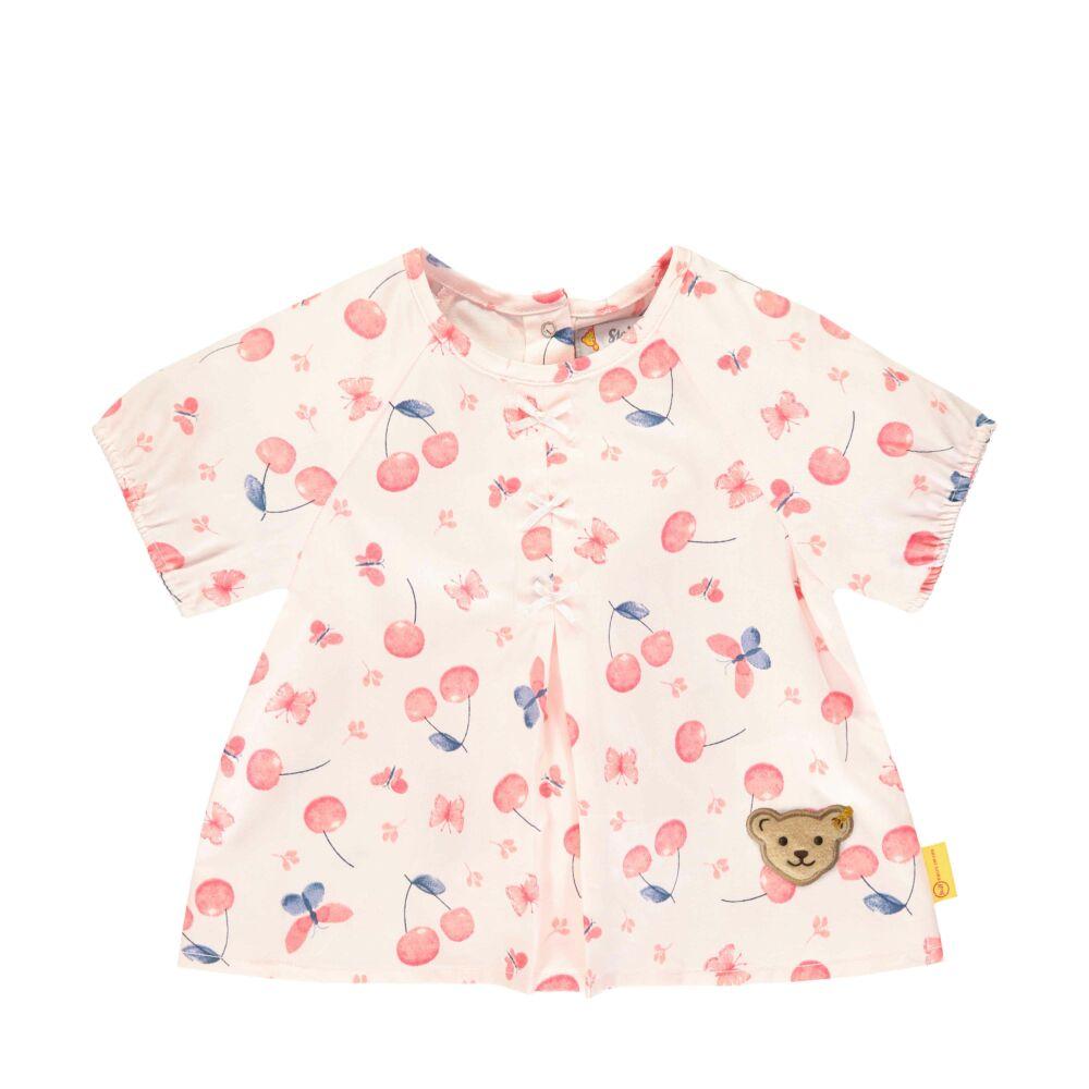 Steiff cseresznye mintás tunika blúz kislányoknak - Bear & Cherry kollekció - világos rózsaszín - Bunny and Teddy