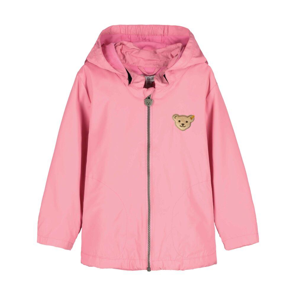 Steiff széldzseki kislányoknak BIONIC-FINISH®ECO impregnálással  - Sweet Cherry kollekió - rózsaszín - Bunny and Teddy