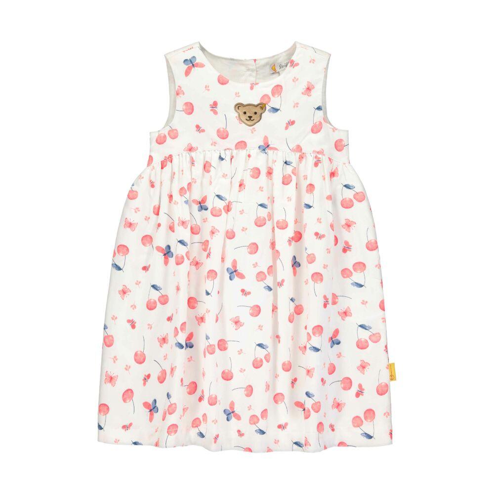 Steiff ujjatlan cseresznye mintás ruha - Sweet Cherry kollekió - fehér - Bunny and Teddy