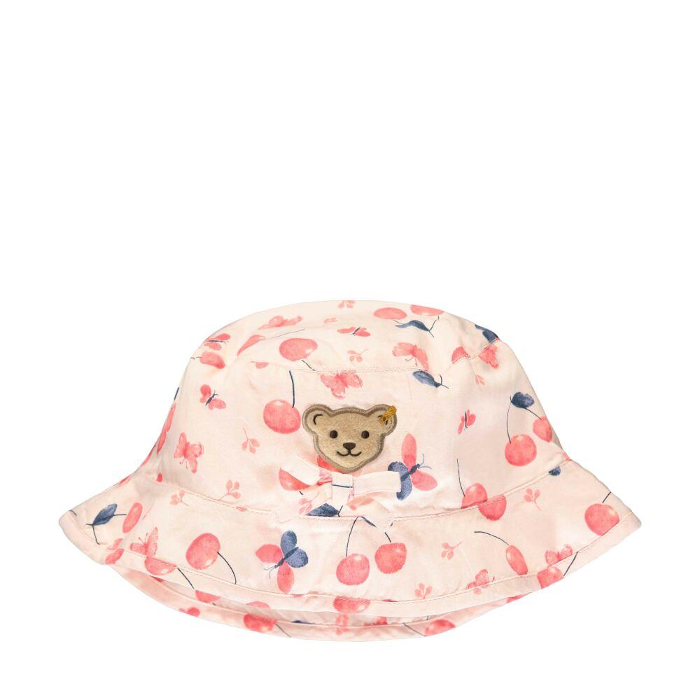 Steiff cseresznye mintás kalap - Sweet Cherry kollekió - világos rózsaszín - Bunny and Teddy