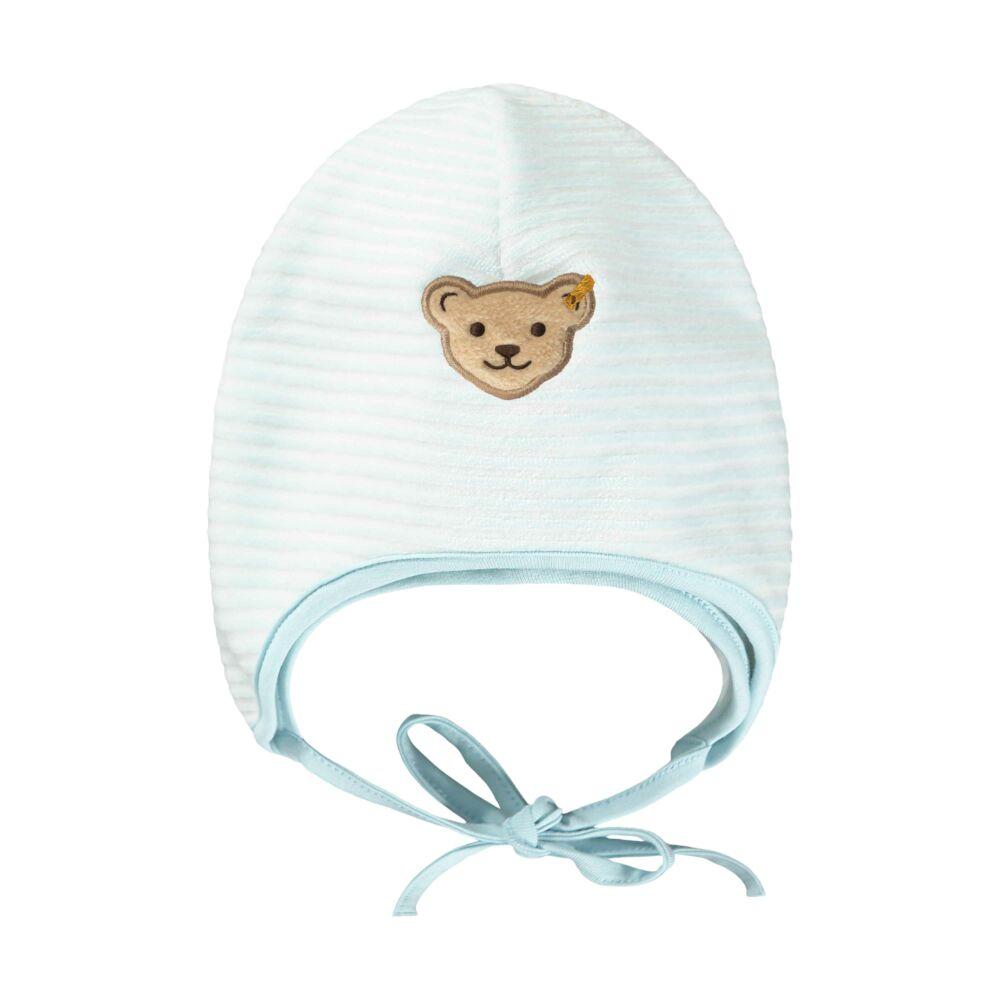 Steiff meleg puha sapka- Baby Boys - Forest Friends kollekcó kék  | Bunny and Teddy