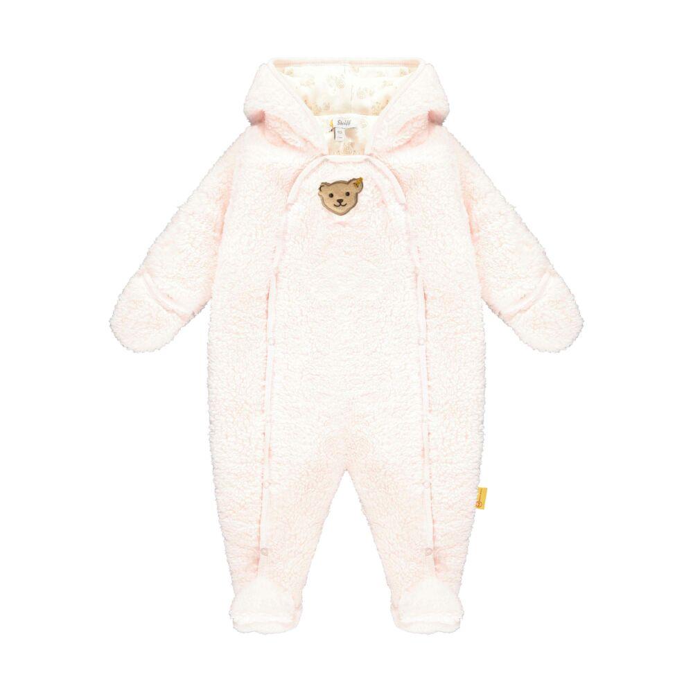 Steiff melegen bélelt overál teddy plüss anyagból- Baby Girls - Fairytale kollekcó világos rózsaszín  | Bunny and Teddy