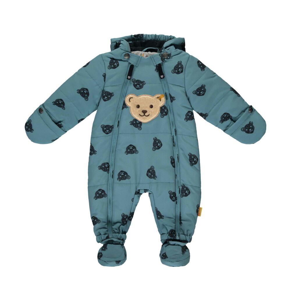 Steiff téli baba overál - Baby Outerwear kollekcó kék  | Bunny and Teddy