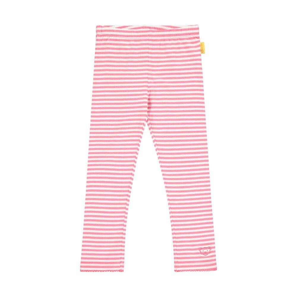 Steiff csíkos leggings- Mini Girls - Bugs Life kollekcó rózsaszín    Bunny and Teddy